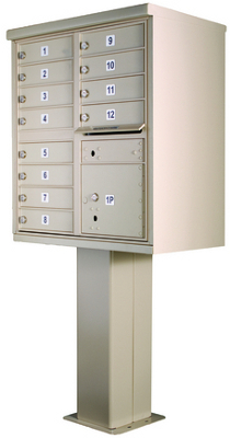 High Security Series Cluster Mailboxes Type 2
