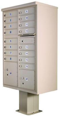High Security Series Cluster Mailboxes Type 3