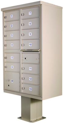 High Security Series Cluster Mailboxes Type 4