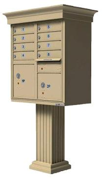 Vogue Collection Cluster Mailboxes