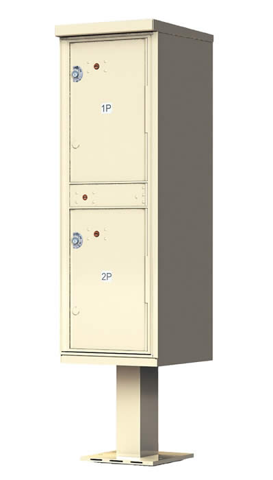Outdoor Parcel Locker Cluster Mailboxes