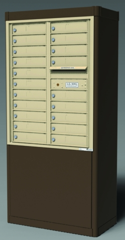 Wall-Mount Group Mailboxes & Mailbox Units | Horizontal & Vertical ...